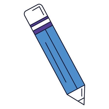 lápiz de escritura icónico ilustración vectorial de diseño