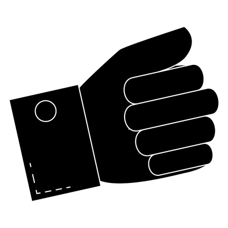 Hand taking isolated icon vector illustration design Illusztráció