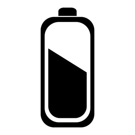 Batterie isoliert isoliert Symbol Vektor-Illustration , Design , Standard-Bild - 83796390