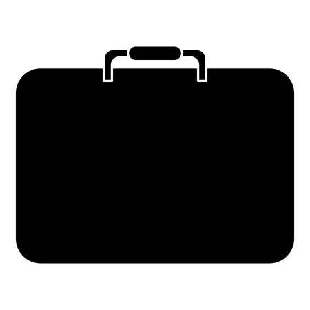 case: portfolio briefcase isolated icon vector illustration design Illustration
