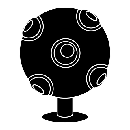 kinect technology isolated icon vector illustration design