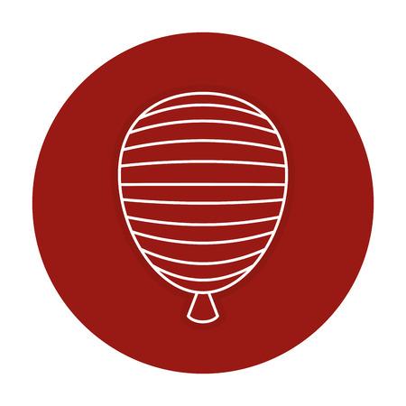미국 풍선 공기 축하 벡터 일러스트 레이 션 디자인 스톡 콘텐츠 - 83798179