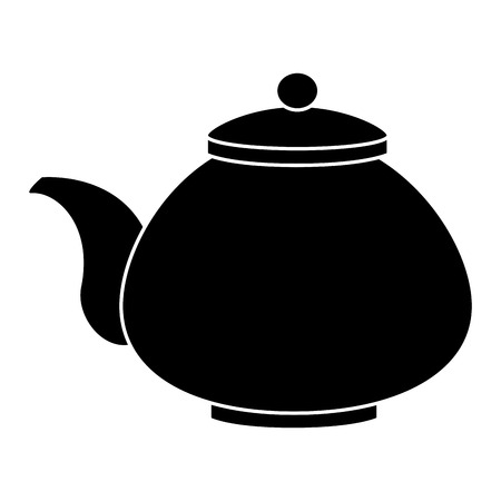 japanese teapot isolated icon vector illustration design Illustration
