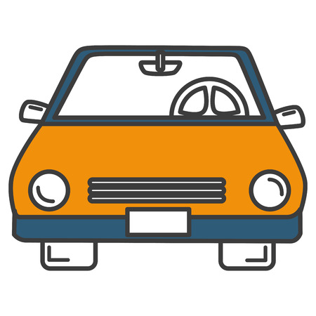 automotive industry: car vehicle isolated icon vector illustration design