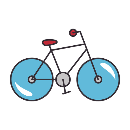 흰색 배경 그래픽 디자인 위에 자전거 스포츠 차량