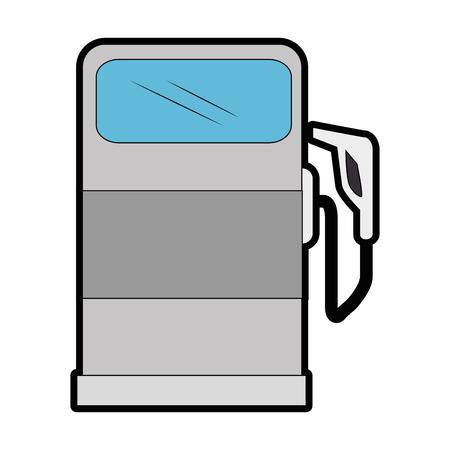 ガス ポンプ アイコン。