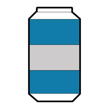 Soda can graphic design. Illustration