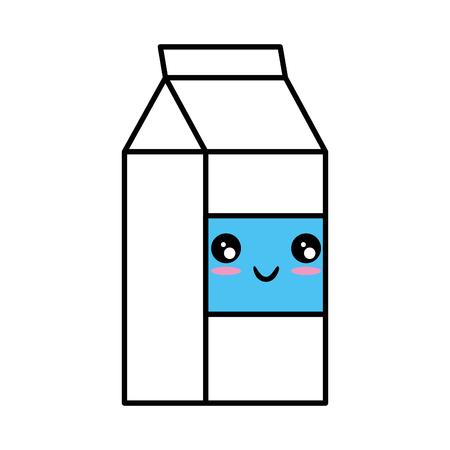 Milk box icon vector illustration Illustration