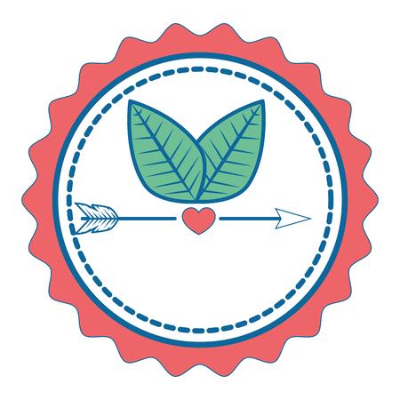 Cute label banner icon vector illustration graphic design