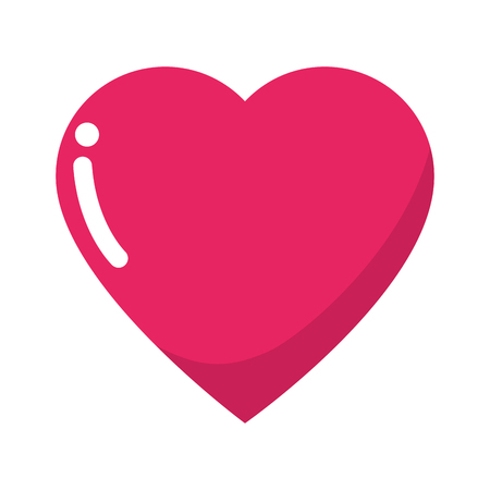 Heart and love icon vector illustration graphic design Stock fotó - 83818956