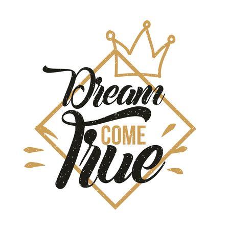 dream come true background icon vector illustration design graophic Ilustração