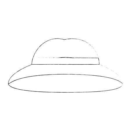 Vintage hat symbol icon vector illustration graphic design Illustration
