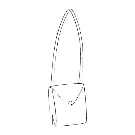 Purse fashion isolated icon illustration vectorielle design graphique Banque d'images - 83821335