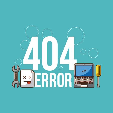 404 error background icon vector illustration design graphic