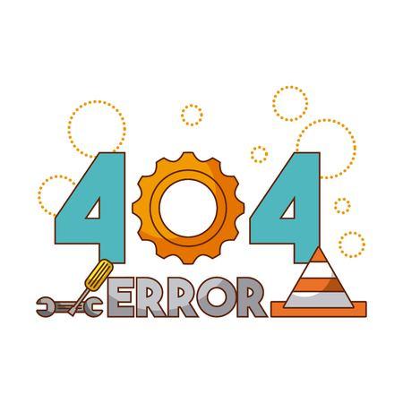 404 error background icon vector illustration design graphic