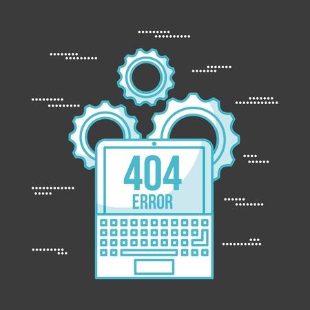 404 fout achtergrond icoon vector illustratie ontwerp grafisch