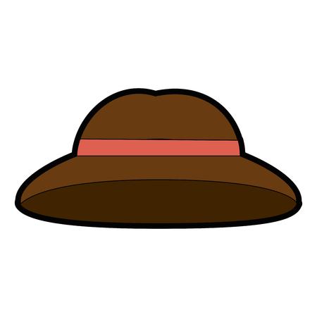 Vintage hat symbol icon vector illustration graphic design 向量圖像