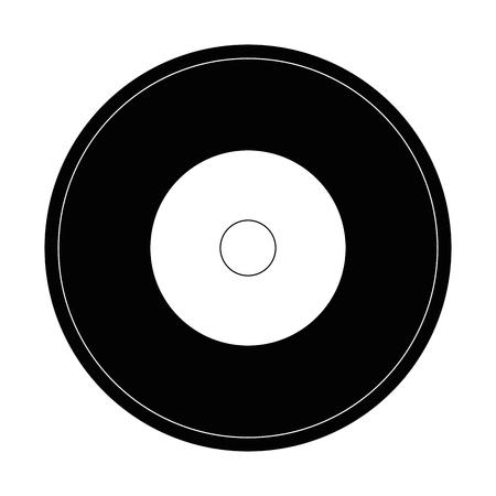 Music vinyl isolated icon vector illustration graphic design Illustration