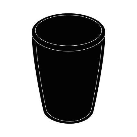 Glass icon vector illustration Illusztráció