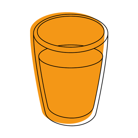 Orange juice icon vector illustration