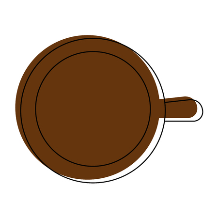 Coffee mug icon vector illustration