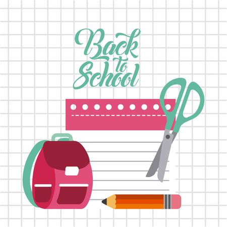Back to school relax icon vector illustration design graphic