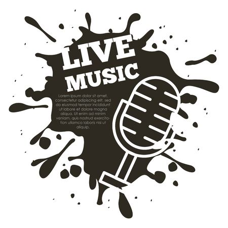 live music concert icon vector illustration design graphic
