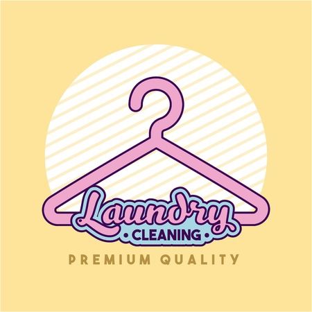 carpet stain: Laundry cleaning delicate icon vector illustration design graphic