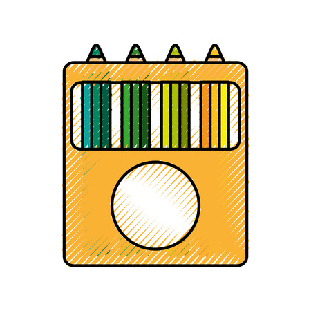 school colors isolated icon vector illustration design