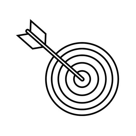 흰색 배경 벡터 일러스트 레이 션 위에 화살표 및 나비 아이콘
