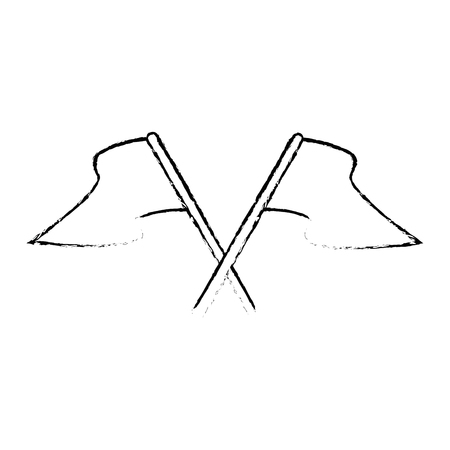 vlaggen pictogram over witte achtergrond vectorillustratie