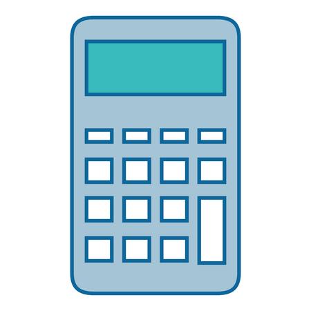 Calculatrice appareil mathématique icône illustration vectorielle design graphique Banque d'images - 83822092