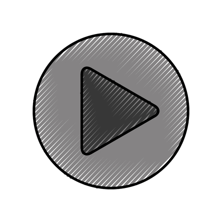 play button isolated icon vector illustration design Illusztráció