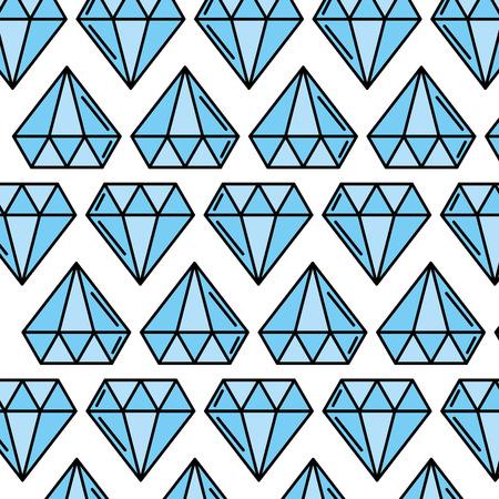 luxury diamond pattern background vector illustration design