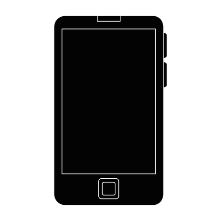 screen: Smartphone mobile technology icon vector illustration graphic design