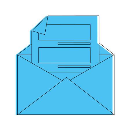 メール アイコン ベクトル イラスト グラフィック デザインの文字