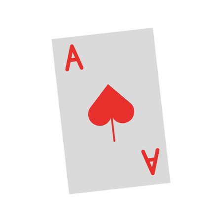 poker card isolated icon vector illustration design Ilustrace