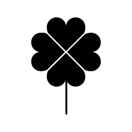 clover poker symbol icon vector illustration design 向量圖像
