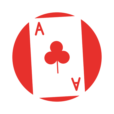 poker card isolated icon vector illustration design Illustration