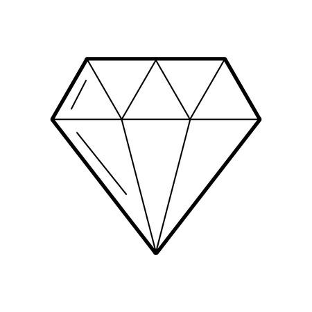 luxury diamond isolated icon vector illustration design Stock fotó - 83827443