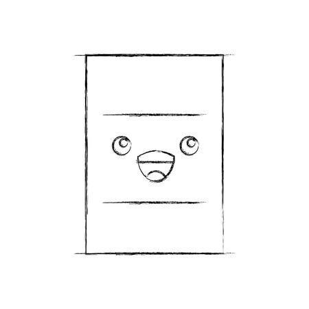 핵 배럴 캐릭터 벡터 일러스트 레이션 디자인