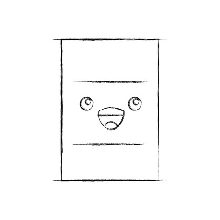 nuclear barrel  character vector illustration design 向量圖像