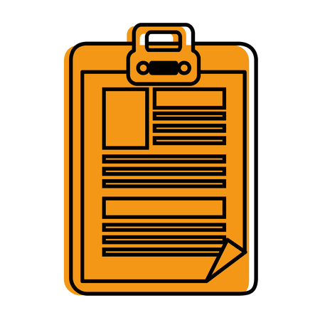 Document  icon vector illustration graphic design