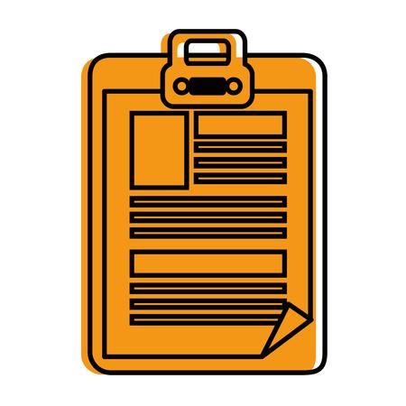 Document pictogram vector illustratie grafisch ontwerp