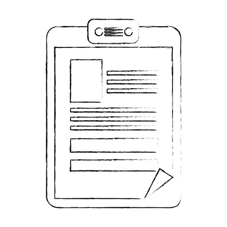 Document isolated icon vector illustration graphic design