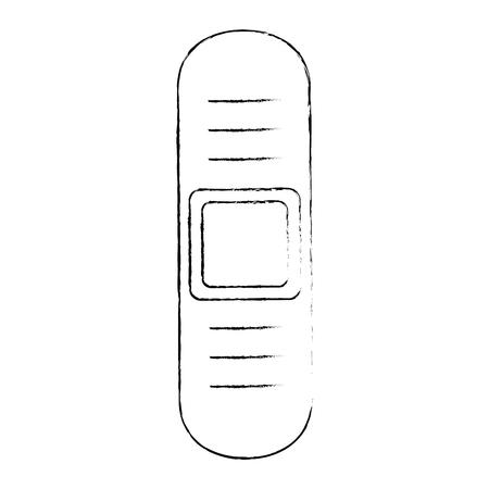 Bandage isolated icon vector illustration graphic design Illustration