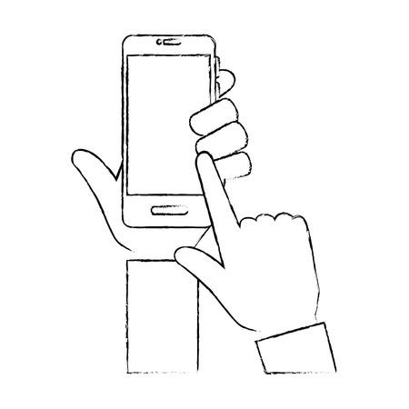 Smartphone smartphone médicale icône illustration vectorielle conception graphique Banque d'images - 83836246