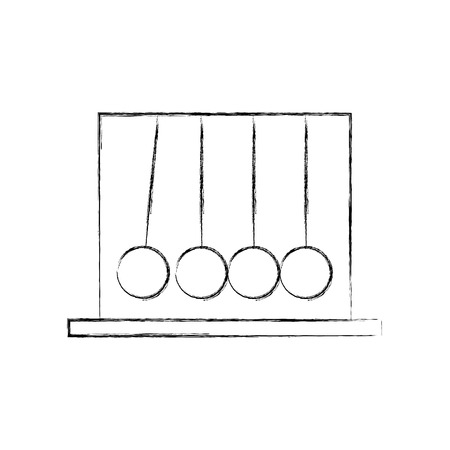 pendulum isolated icon vector illustration design Stock Vector - 83829551