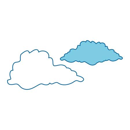 Cloud weather symbol icon vector illustration graphic design 版權商用圖片 - 83827645