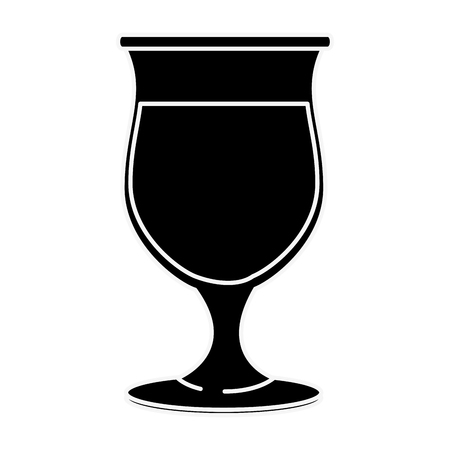 Glass cup isolated icon vector illustration graphic design Reklamní fotografie - 83828139